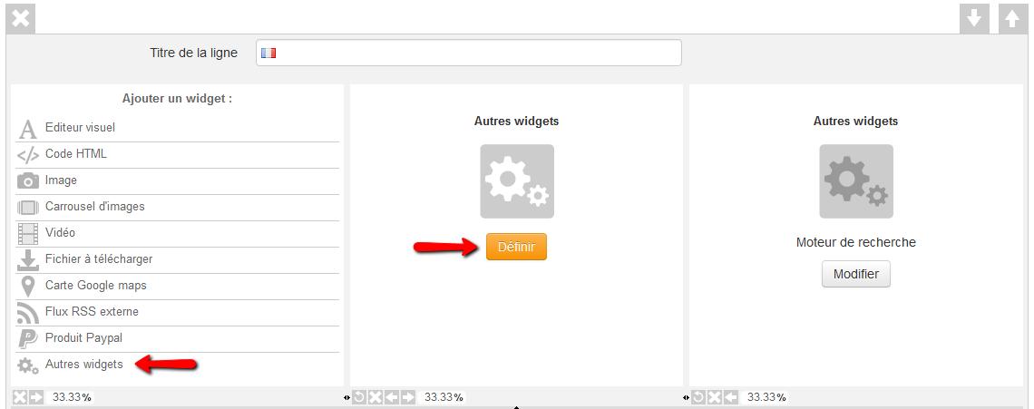 Ajouter un moteur de recherche pour le module blog